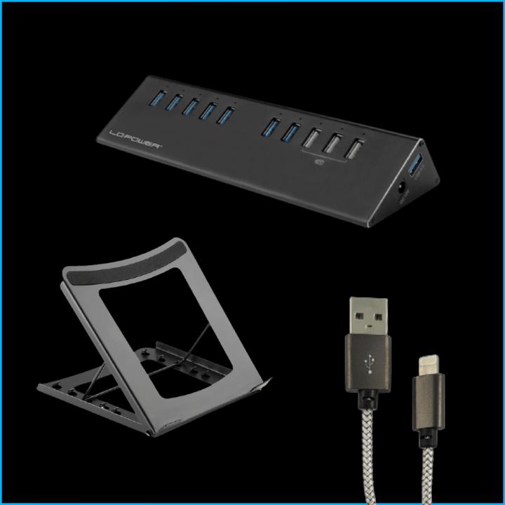 Notebook-Ständer, Kabel, USB-Hubs, Lüfter Zubehör